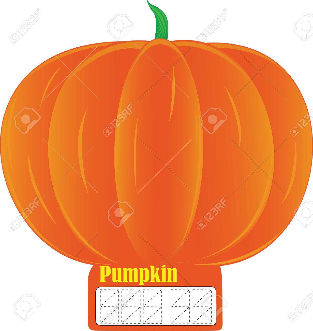 Halloween Pumpkin, Illustration Pumpkin, Vector Pumpkin, Eps.