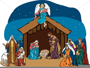 Shepherds Clipart Nativity.