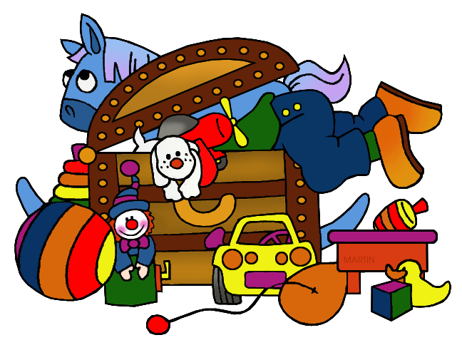 Free Other Things Clip Art by Phillip Martin, Toys.
