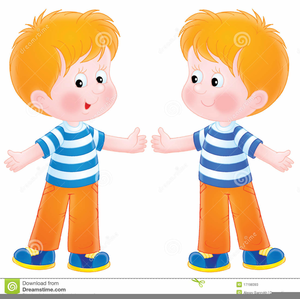 Free Clipart Of Twin Babies.