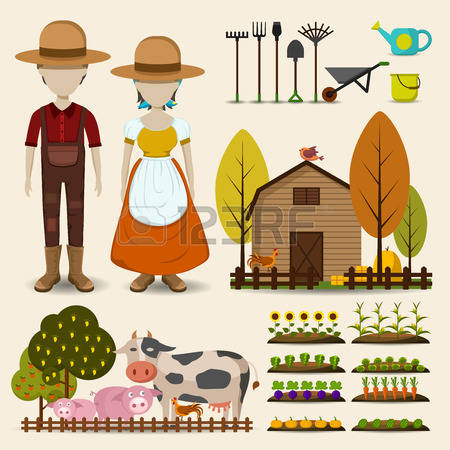 31,091 Farmer Stock Illustrations, Cliparts And Royalty Free.