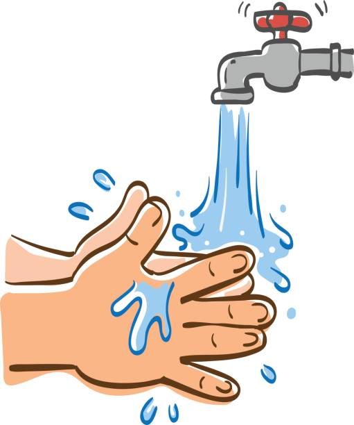 Hand Washing Clipart & Free Clip Art Images #33542.