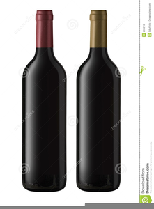 Free Clipart Of Wine Bottles.