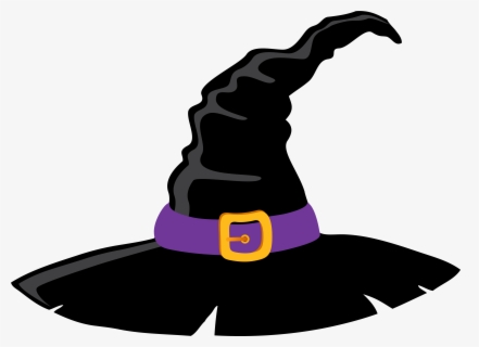 Free Witches Hat Clip Art with No Background.