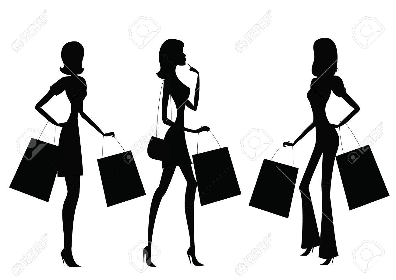 10691 Women free clipart.