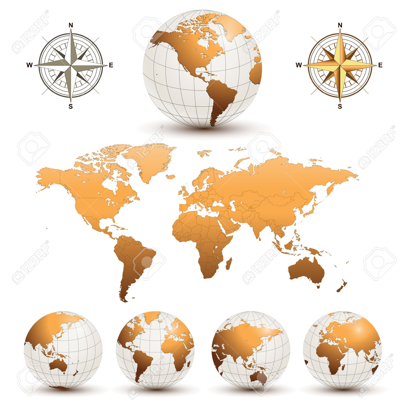 Free clipart of world map clipground earth globes with detailed world map royalty free cliparts gumiabroncs Gallery