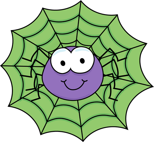 1454 Spider Web free clipart.