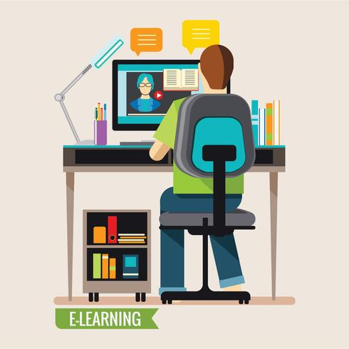Online Education, Distance Online Learning.