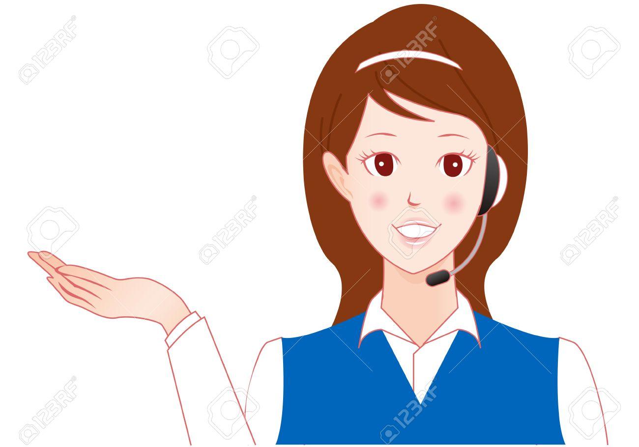 Telephone Operator Clipart.