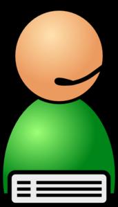 Help Line Operator Clip Art at Clker.com.