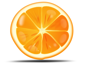 Orange Clip Art Free.