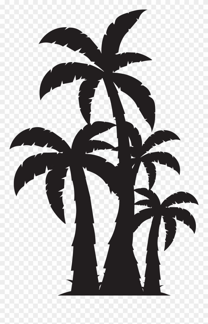 Palm Trees Svg Free Clipart (#457).