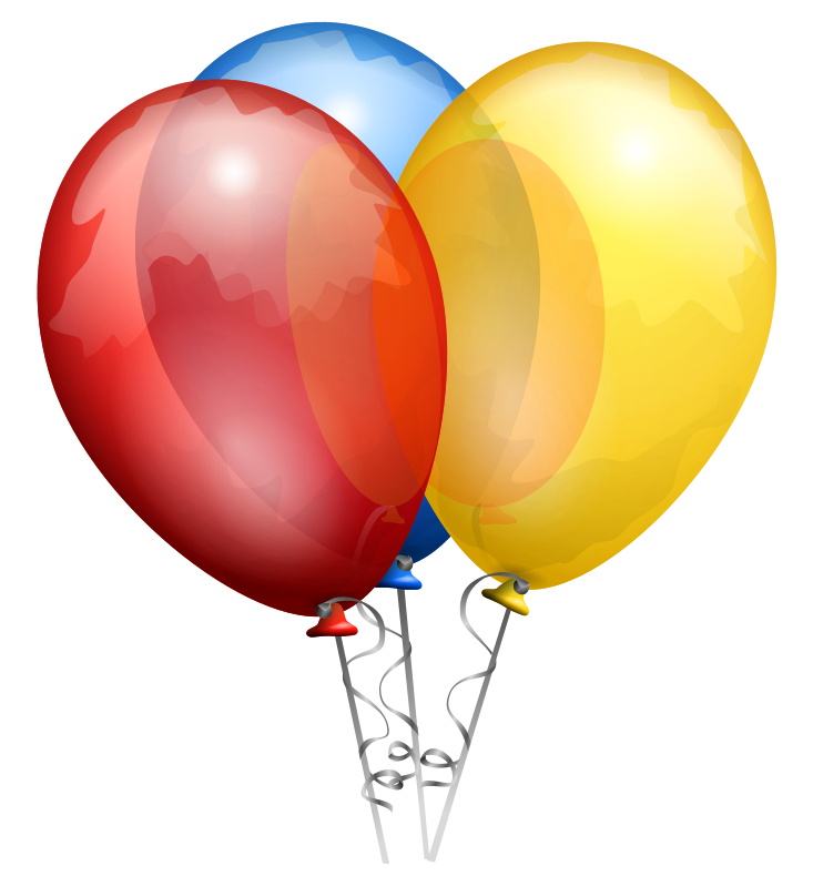 Free Clipart: Party Balloons.