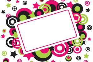 Free clipart party borders » Clipart Station.