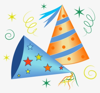 Free Party Hat Clip Art with No Background.