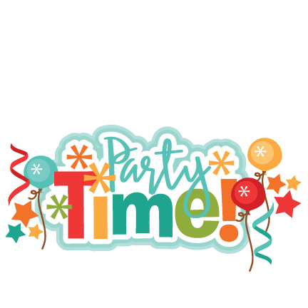 Party Time Clipart.