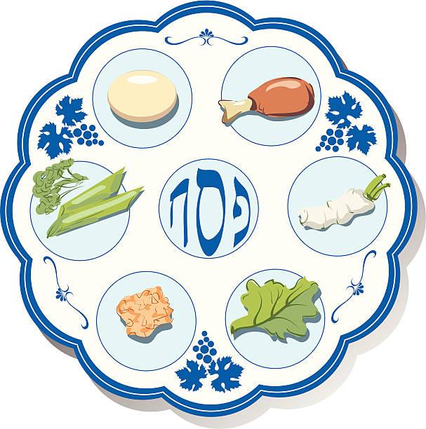 Best Passover Seder Illustrations, Royalty.