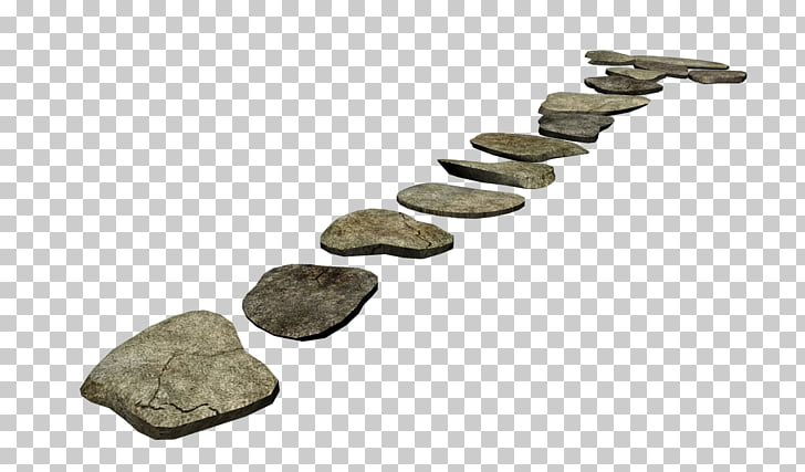 Rock , pathway, gray stones PNG clipart.