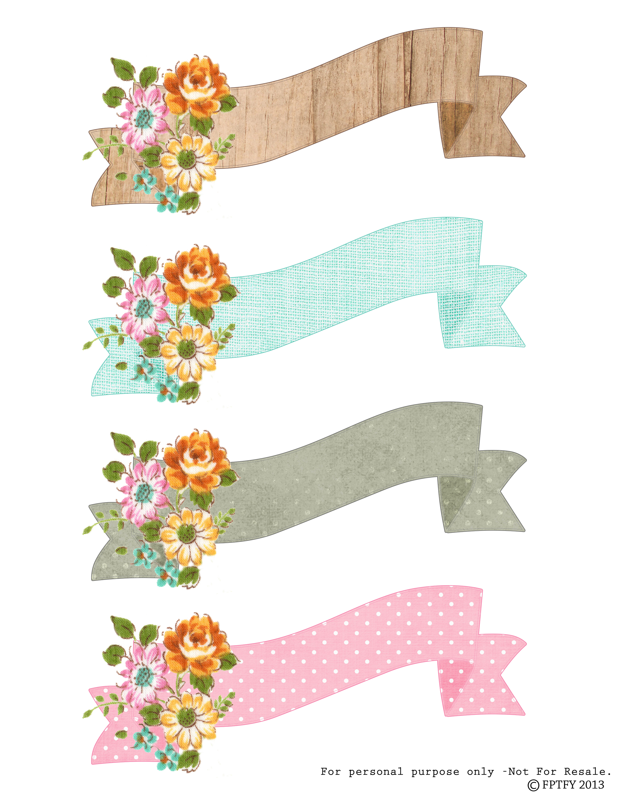 papercraft #downloads #printables free clip art downloads banners.