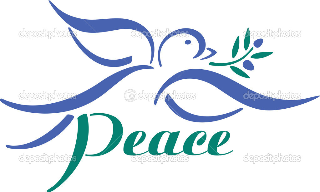 Peace Dove Clip Art N18 free image.