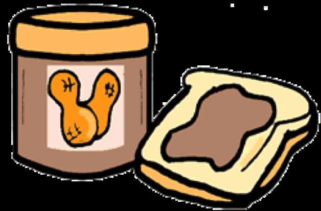 1577 Peanut free clipart.
