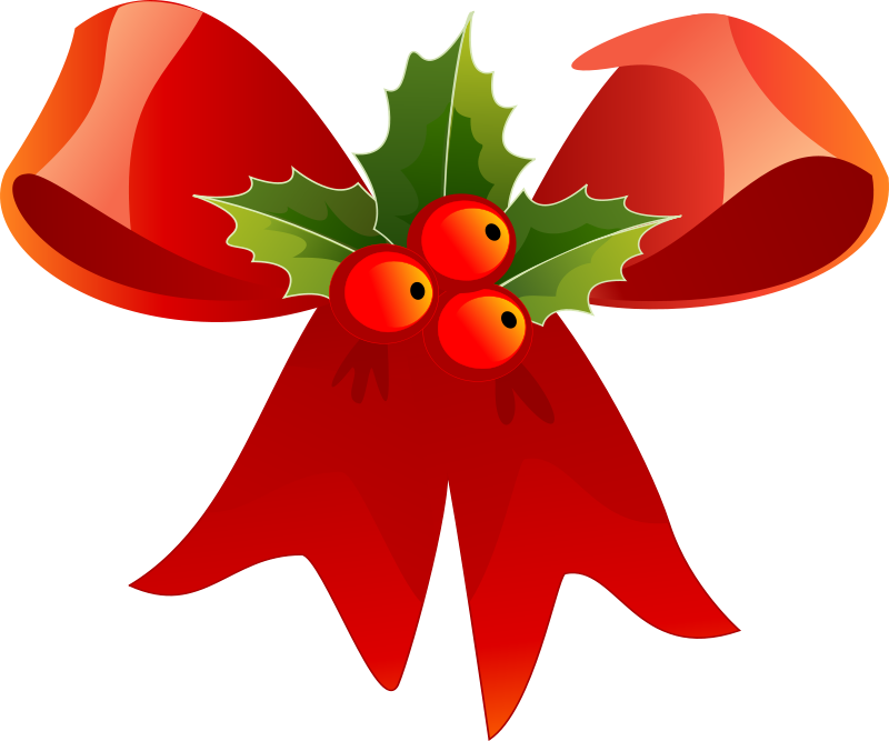 Free Clipart: Christmas ribbon.