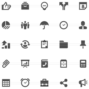 Free Business Clipart Icons.