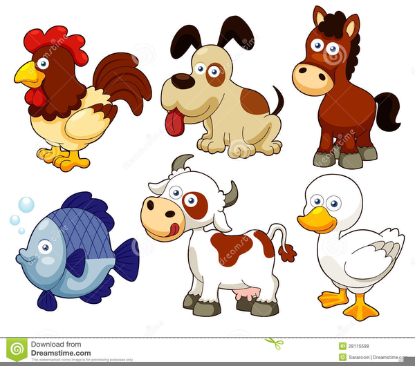 Free Clipart Animals Reading Books.