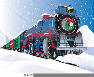 Free Clipart Of Polar Express Train.