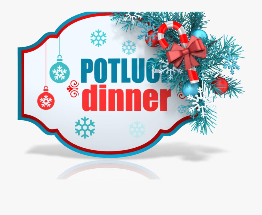 Christmas Eve Potluck Dinner , Transparent Cartoon, Free.