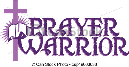 prayer warrior.