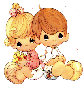 Free Clipart Of Precious Moments.