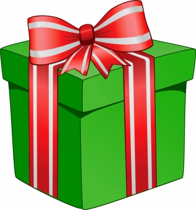 christmas present , Free clipart download.