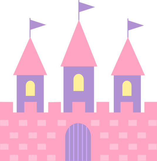 Cute Pink Princess Castle.