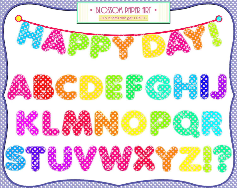 Free Alphabet Clipart Images.