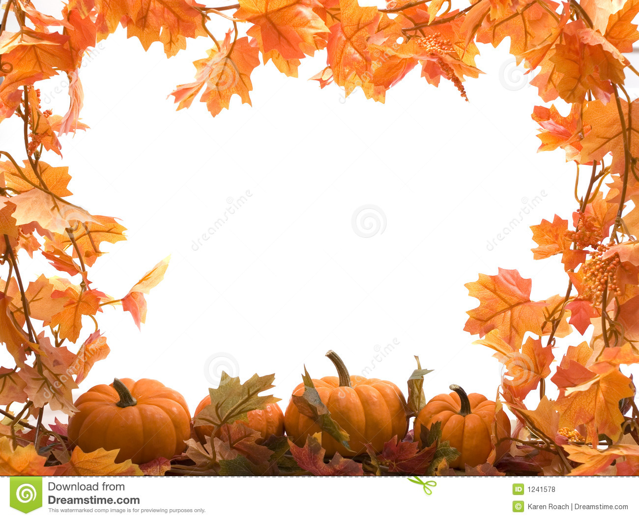 Free Clipart Fall Leaves Pumpkins.