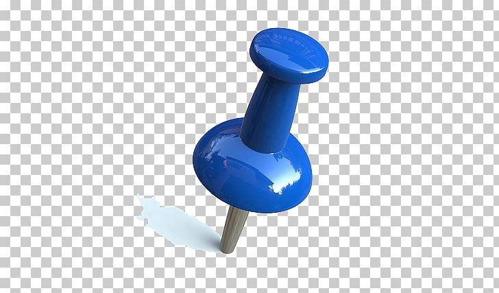 Drawing pin , Pushpin Pic, blue push pin illustration PNG.