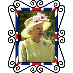 Queen Elizabeth II tribute clipart, cliparts of Queen.