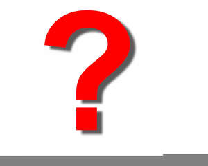 Free Clipart Question Mark Sign.