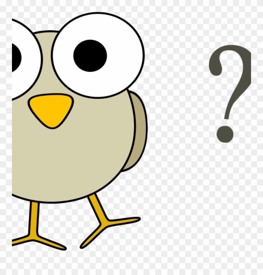 Free Clip Art Question Mark Free Clipart Grey Bird.