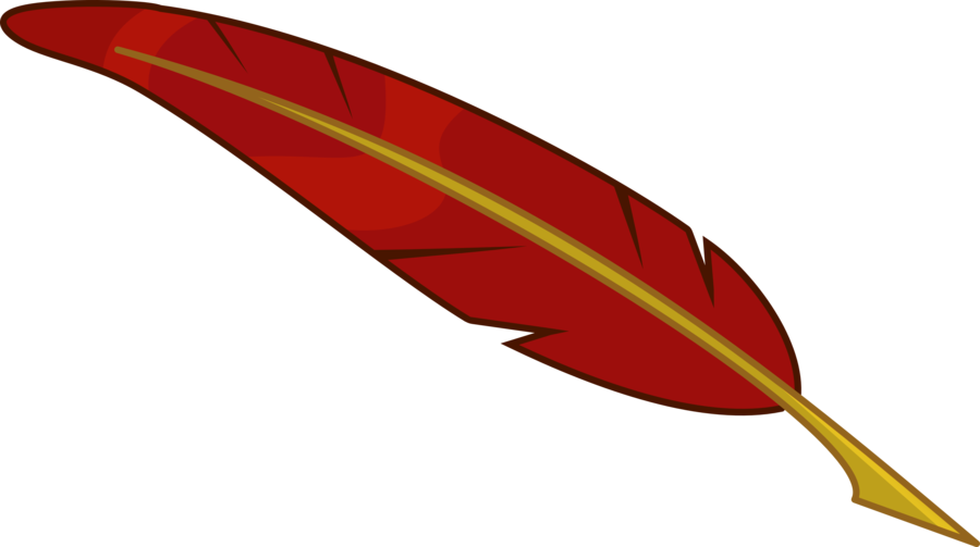 987 Quill free clipart.