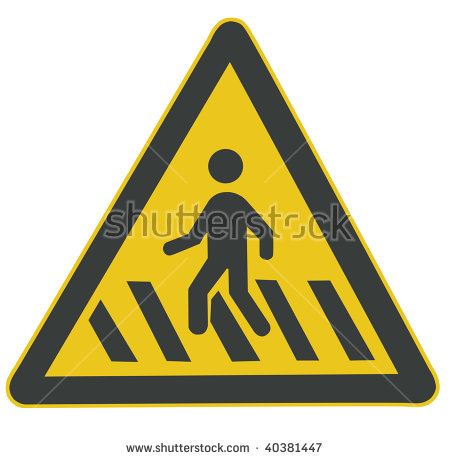 Tripping Danger Sign Stock Vector 323220812.