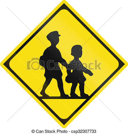 Clipart Road Signs Watch For.