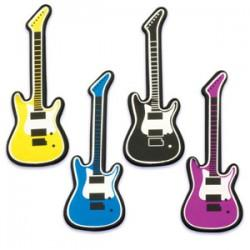 Rock star guitar clip art free clipart images 9.