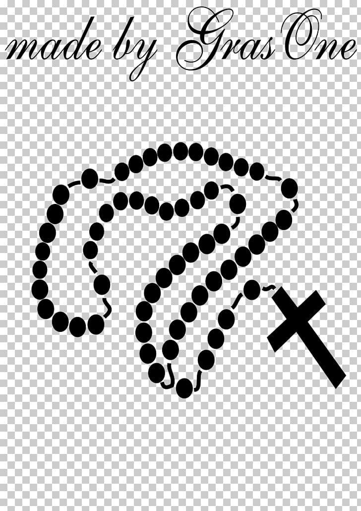 Praying Hands Rosary Prayer , Rosary s, black rosary PNG.
