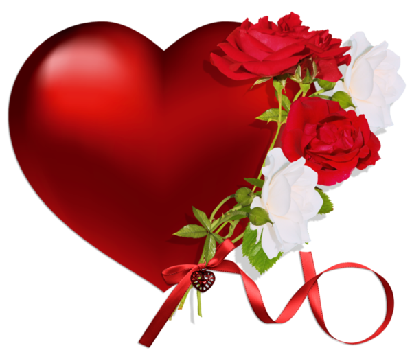 Library of heart and rose png library png files.