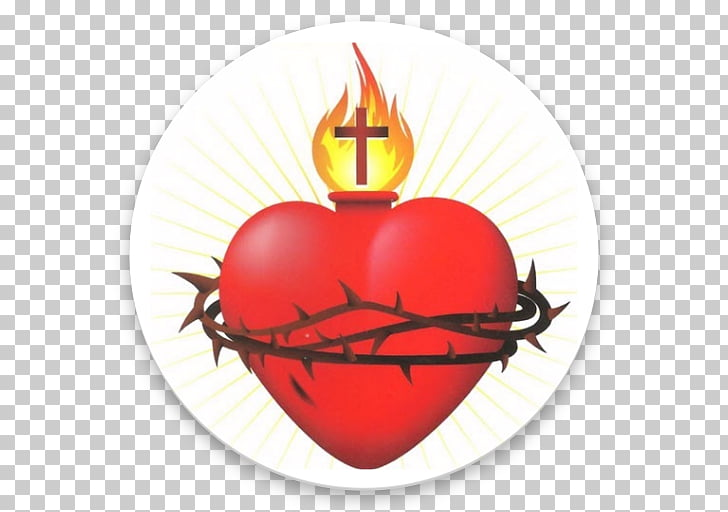 Sacred Heart Immaculate Heart of Mary graphics Illustration.
