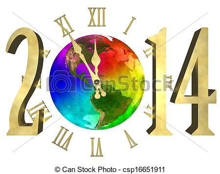Images: Happy New Year 2014 Banner Clip Art.