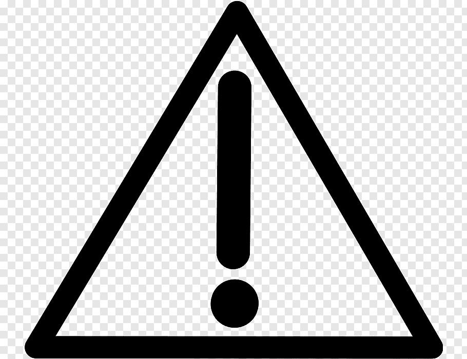 Warning Sign Line, Symbol, Hazard Symbol, Product Manuals.