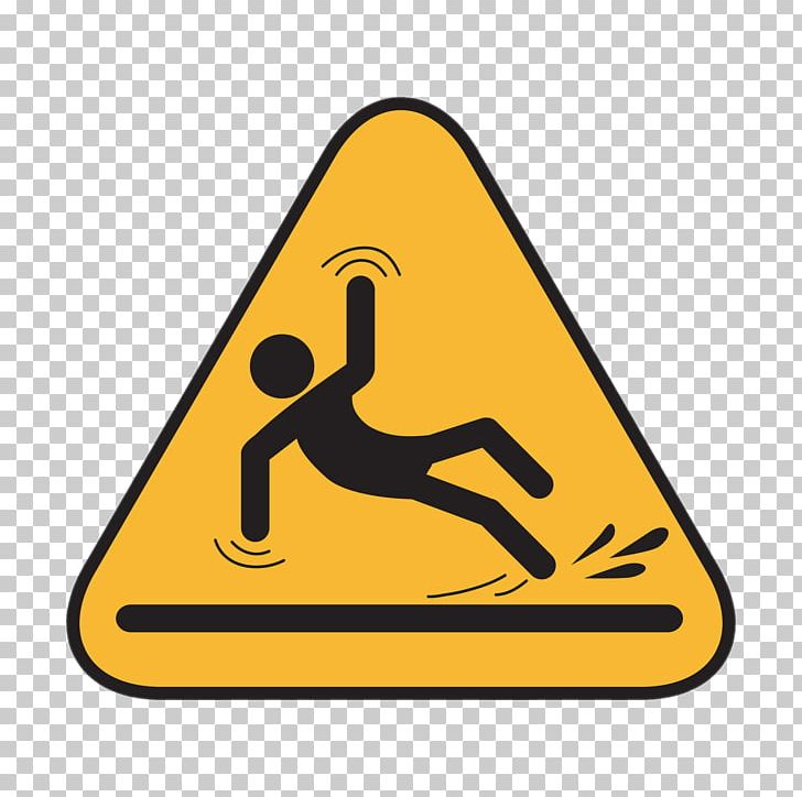 Slip And Fall Hazard Sign PNG, Clipart, Miscellaneous.
